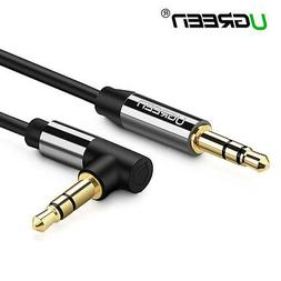 Ugreen Audio Cable Lead 3.5mm Jack 90 Degree Car Auxiliary S