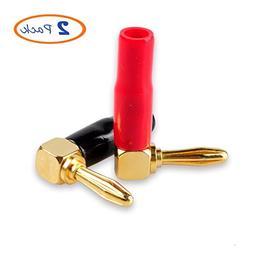 Banana Plugs, Besmelody 1-Pair 4mm Screw Type Banana Plug Co