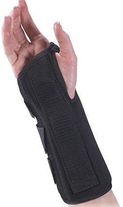 Bilt-Rite Mastex Health 8 Inch Premium Right Wrist Brace, Bl