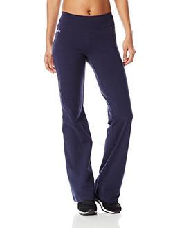 Spalding Women's BootLeg Yoga Pant Ultra Navy Large NO TAX