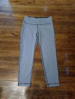 *BRAND NEW* 90 Degree by Reflex Leggings CHARCOAL HTR/WHITE