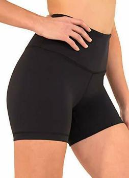 90 Degree By Reflex Power Flex Yoga Shorts - Black X-Large