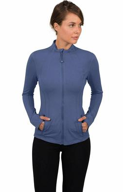by reflex womens lightweight full zip running