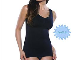 Women's Cami Shaper Full Body Shapewear Tank Top With Remova