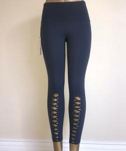 90 degree by reflex criss cross ankle leggings