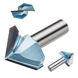 1-1/2-inch cutting dia 1/2-inch shank 90 degree carbide tipp