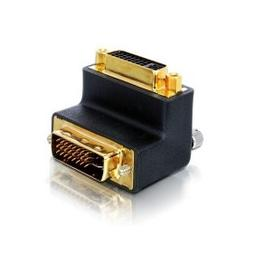 CY 90 Degree Right Angled DVI 24+5 -D Digital Dual Link Male