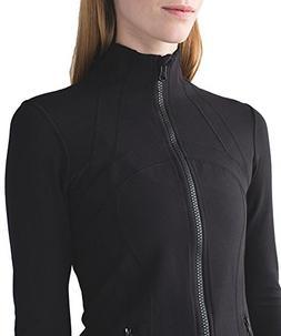 Queenie Ke Women's Sports Define Jacket Slim Fit And Cottony