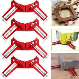 4x 90°Degree Right Angle Miter Picture Frame Corner Clamp H