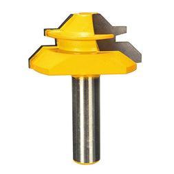 """Yakamoz 2"""" Diameter 3/4"""" Stock 45-Degree Lock Miter Router B"""