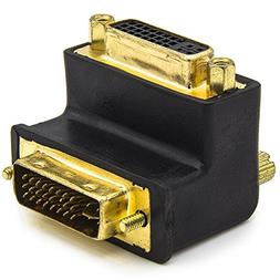 Allytech 1 Pack DVI-I 24 + 5 Pin Male To Female M/F Gold Pla