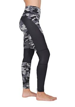 etched camo print workout leggings