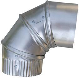 Speedi-Products EX-26A90 04 4-Inch Aluminum 90-Degree Adjust