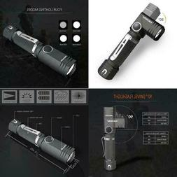 Flashlight, Nicron N7 600 Lumens Tactical Flashlight, 90 Deg