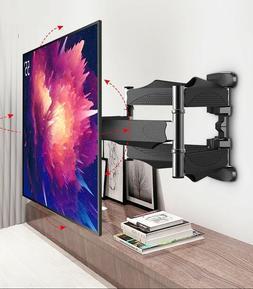 Full Motion Articulating 6 Arms smart TV Wall Mount Tilt Bra