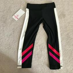 girl s black yoga pants leggings size