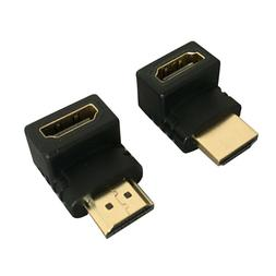 HDMI 90 Degree and 270 Degree Right Left Angle Convertor Mal