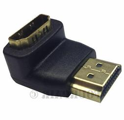 HDMI Right Angle Male Female 90 Degree Adapter Connector Ext
