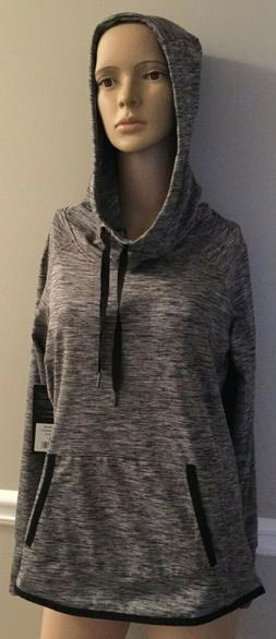 90 Degree by Reflex Heather Charcoal Hoodie Size Small NWT