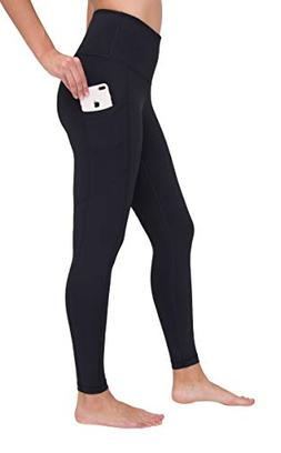 90 Degree By Reflex High Waist Interlink Yoga Pants - Black