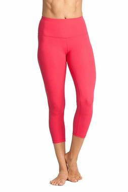 Yogalicious High Waist Ultra Soft Lightweight Capris -  Hig