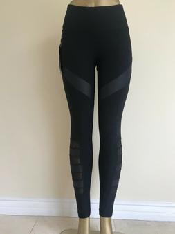 90 DEGREE BY REFLEX - HIGH WAIST YOGA LEGGINGS/SIDE POCKETS