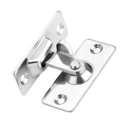 90 Degree Solid Door Latch Bolt 304 Steel Lock Sliding Door