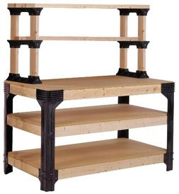 Hopkins 90164 2x4basics Work Bench and Shelving Storage Syst