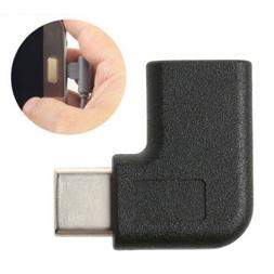 Hot V90 Degree Right Angle USB 3.1 Type C Male To Female USB