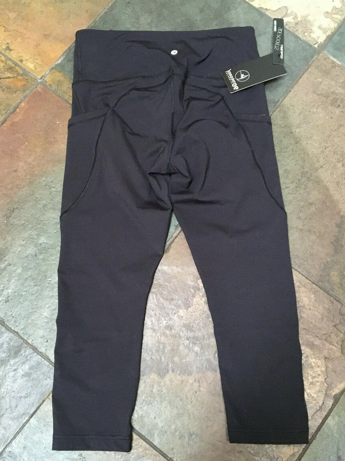 0920 90 Degree Reflex Legging Hi Waist Capri W Pockets #CW62391 NWT B