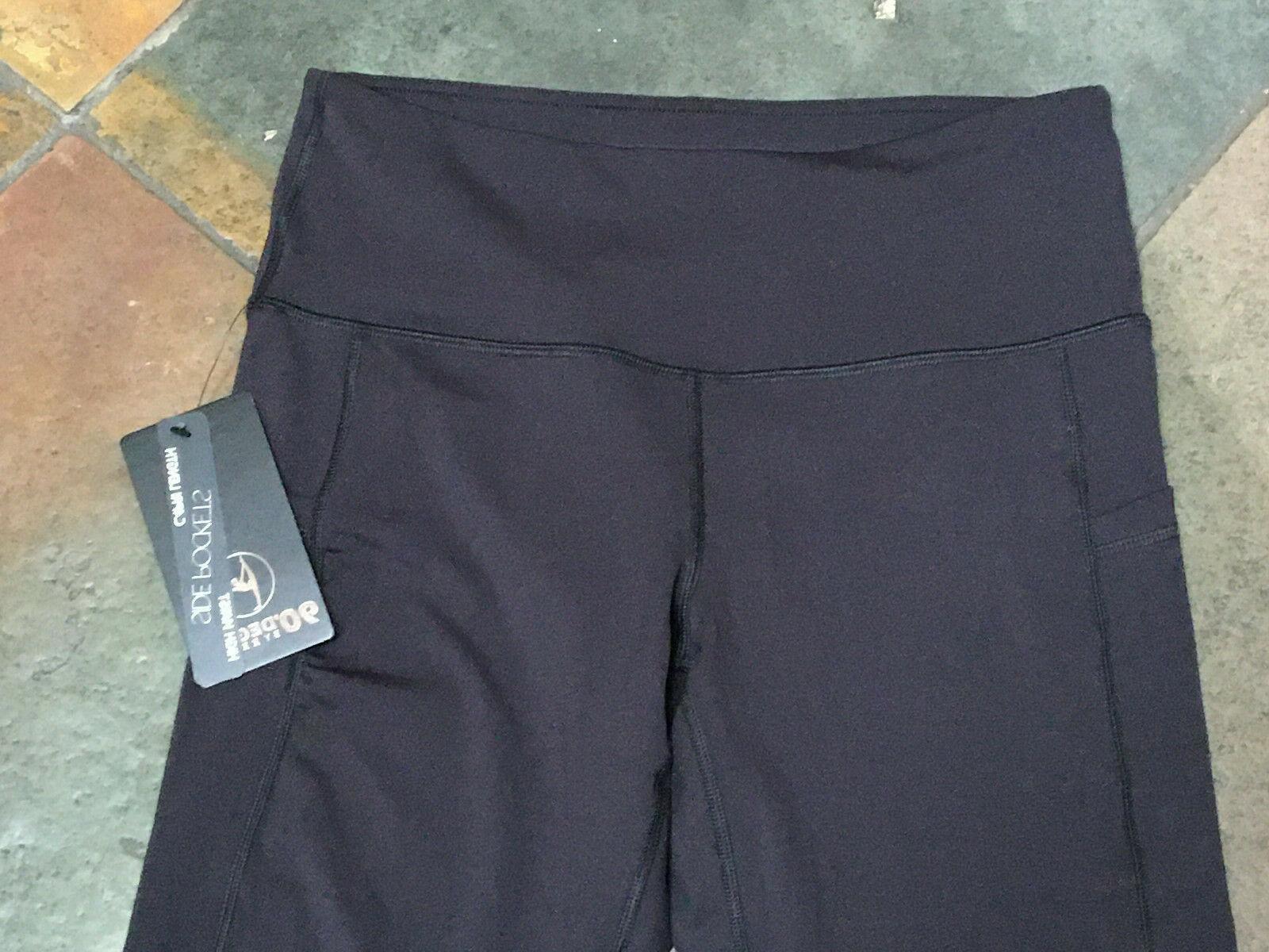 0920 90 Degree Reflex Waist Capri W Pockets #CW62391 NWT B