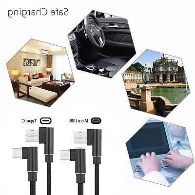 90 Angle Fast Charge Type USB Sync