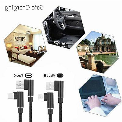 90 Degree Charge C USB Cable Rapid Power