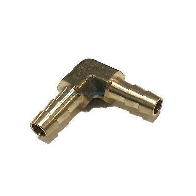 1/4 HOSE BARB ELBOW 90 DEGREE Brass UNION Pipe Fitting Threa
