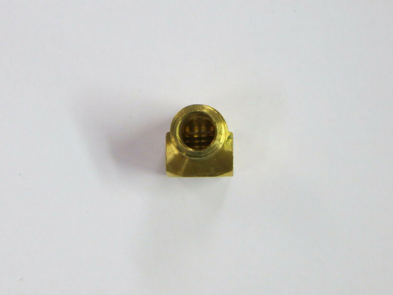 "1/4"" NPT  90 Degree Brass"