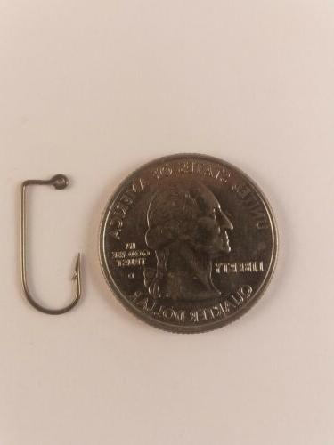 100- EAGLE CLAW 570 BRONZE 90 DEGREE JIG HOOK SIZE #6