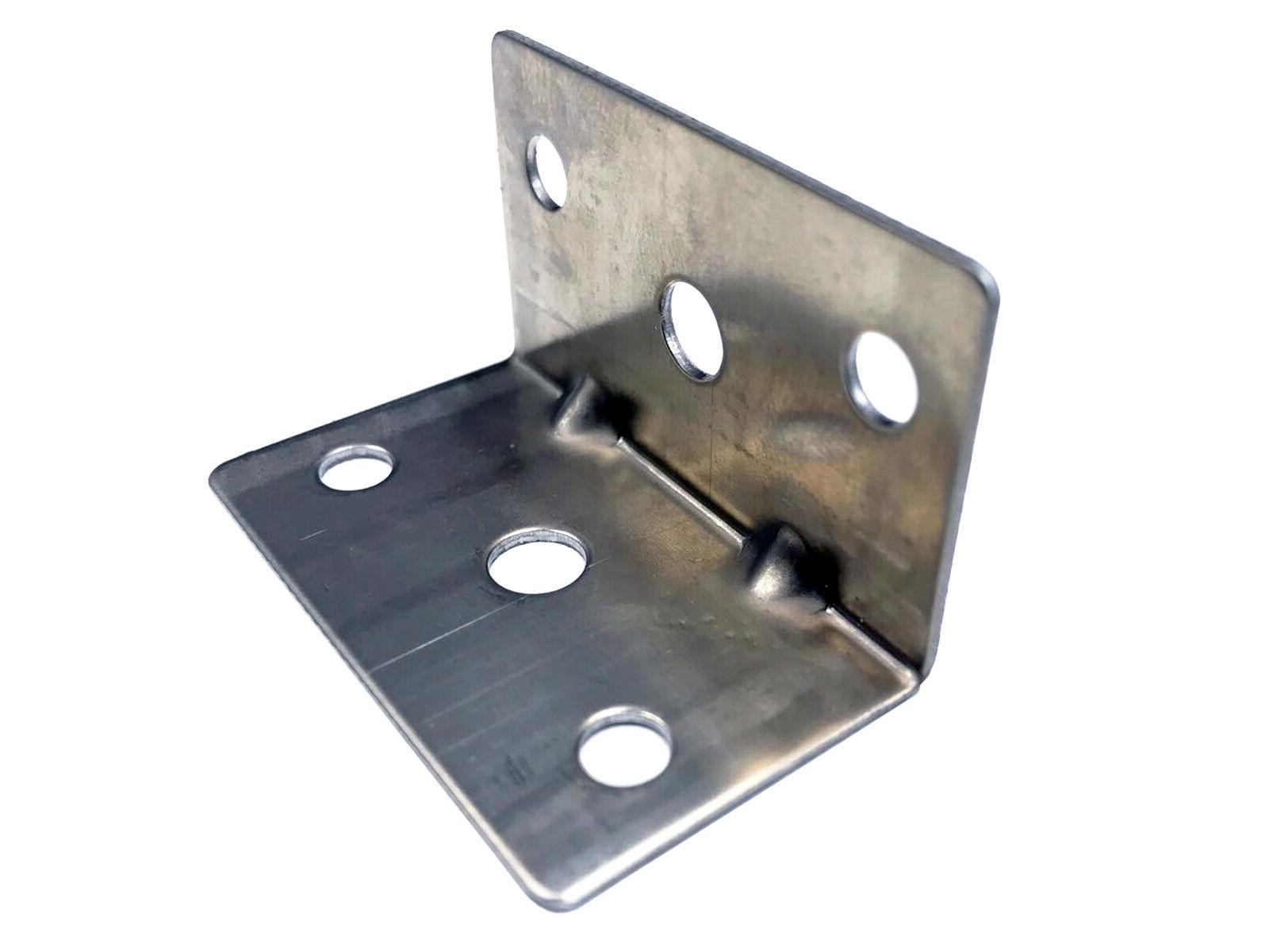 100 pack galvanized 90 degree right angle