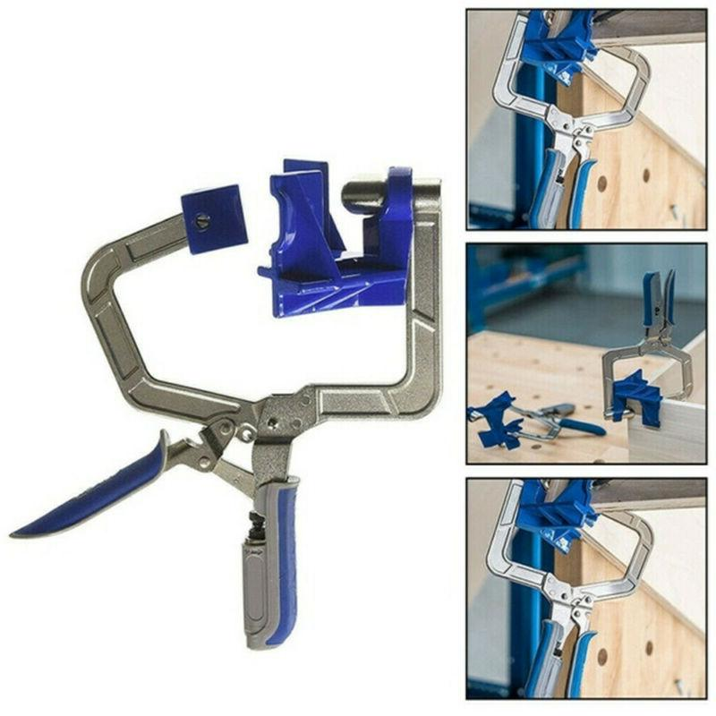 2 x 90 Degree Right Clamp Woodworking Jig Clamps