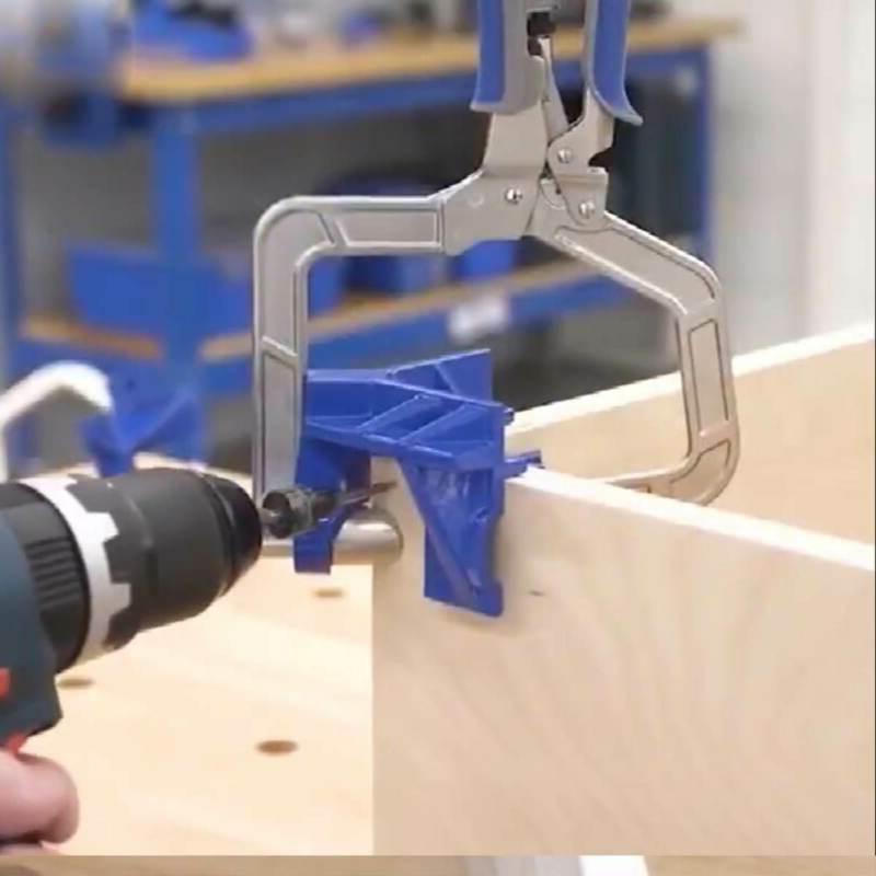 2 x Right Corner Woodworking Wood Kreg Jig Clamps