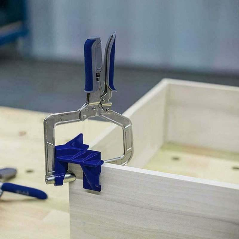 2 x Degree Right Angle Corner Clamp Woodworking Jig Tool
