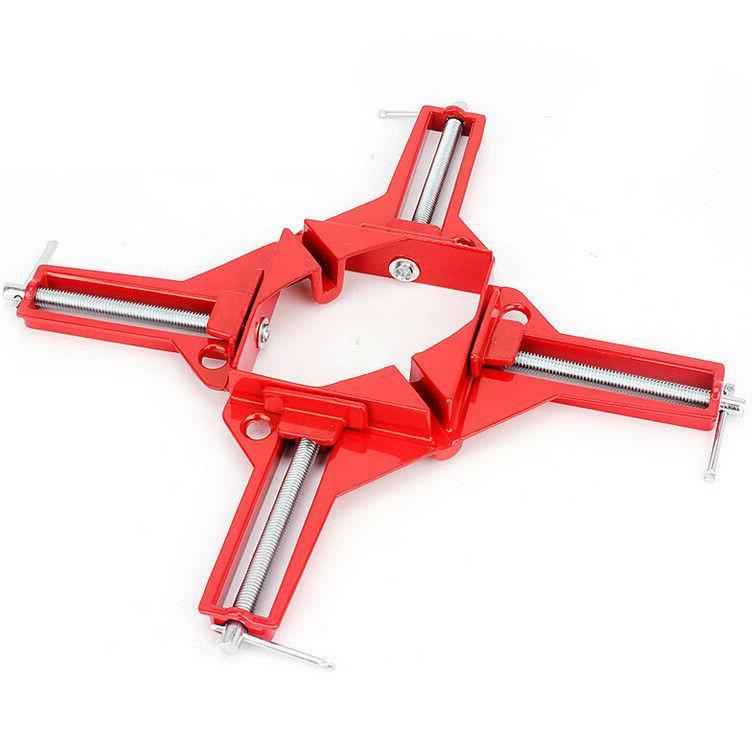 2pc 90degree right angle clip corner clamp