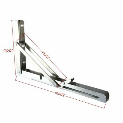 2PCS Table Folding Shelf