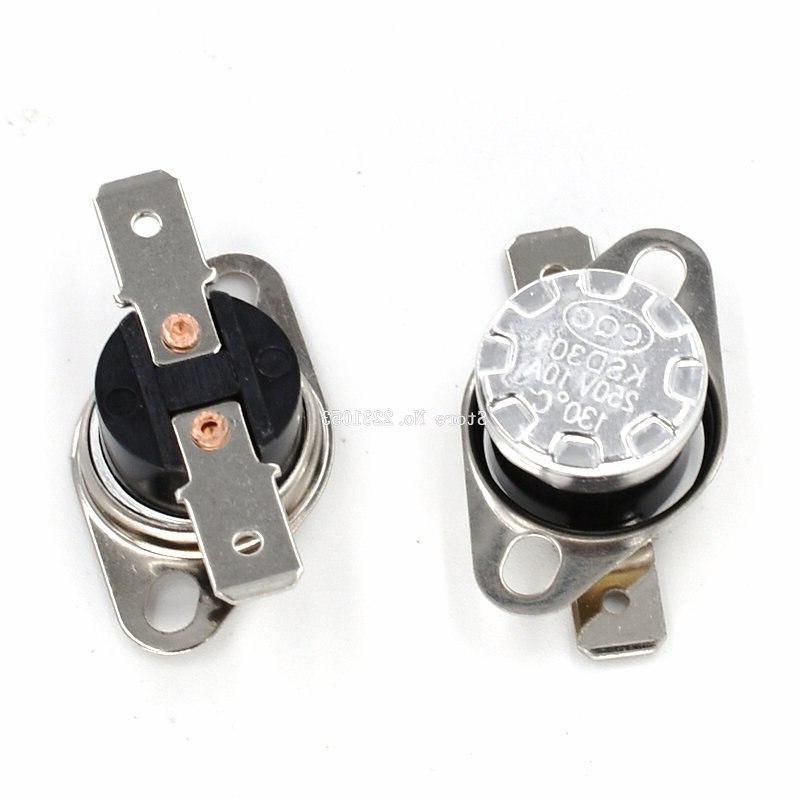 2PCS Open KSD301 10A Bakelite Temperature Thermostat Sensor 50 60 65 70 75 <font><b>90</b></font>