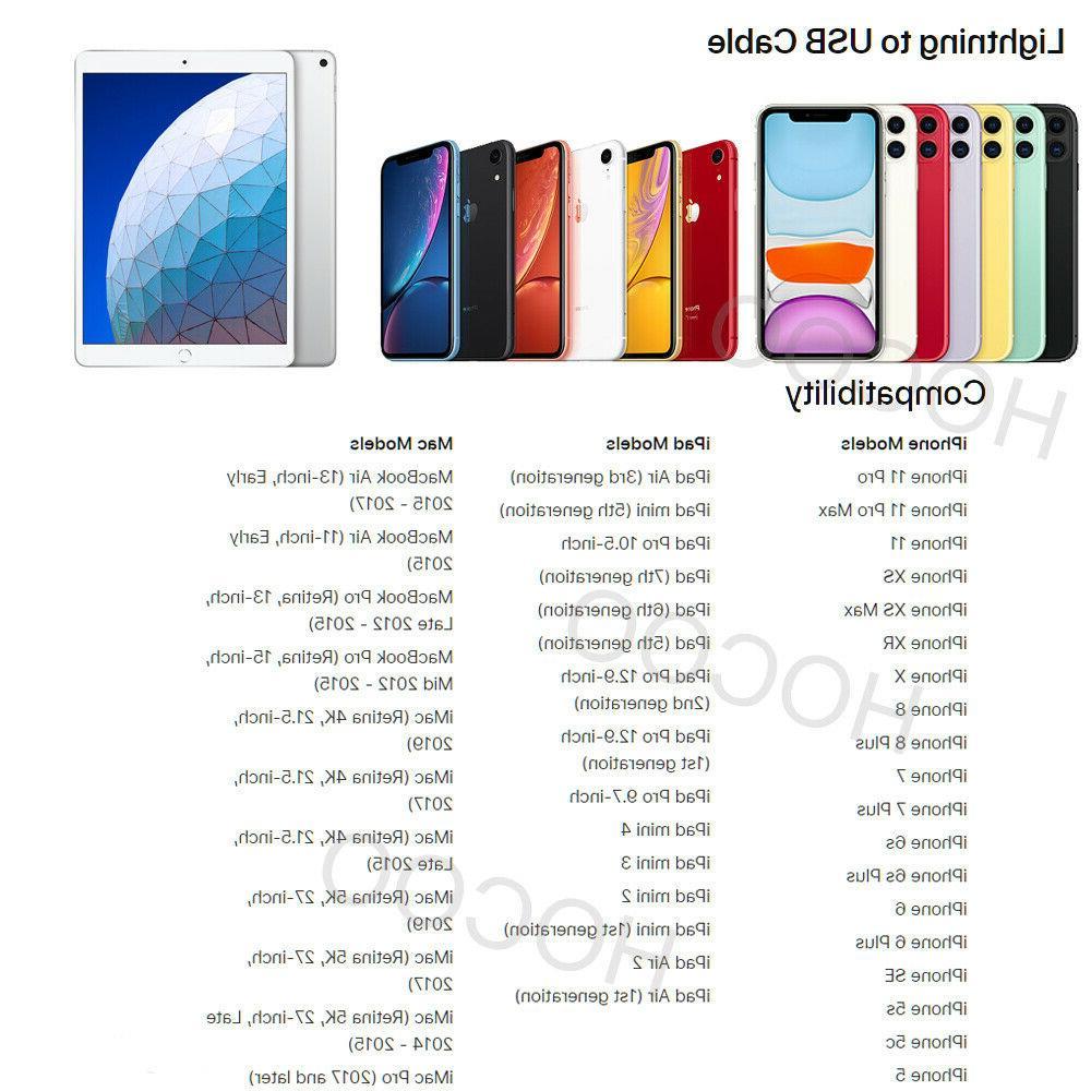 3/2/1M 90 Angle Cable iPhone iPad