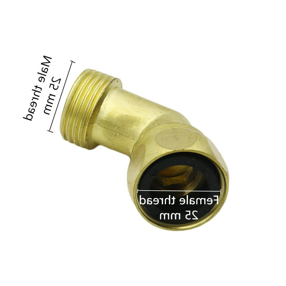 """3/4""""Copper 90-Degree Elbow Garden Hose"""