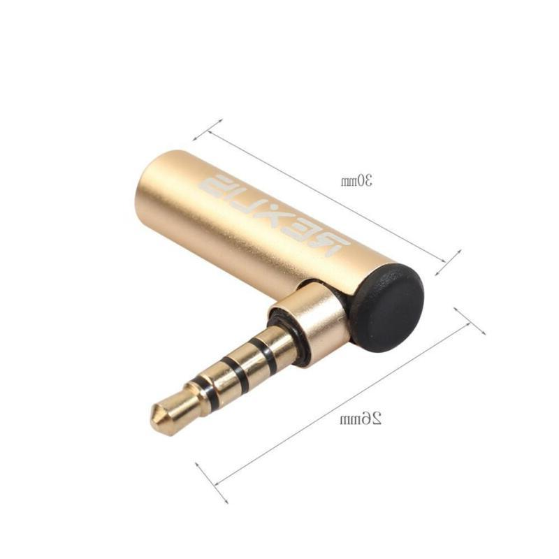 3.5mm Jack Adapter Right 90
