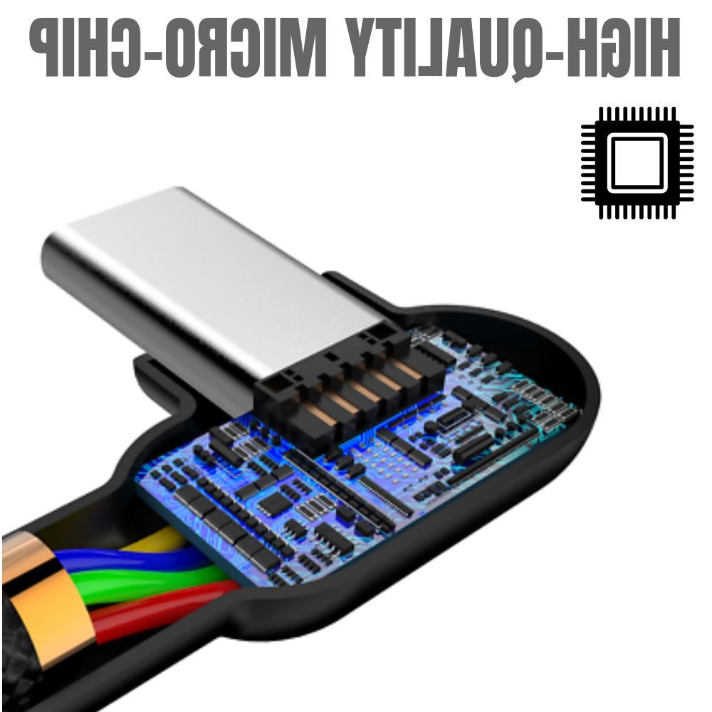3 6Ft 90 Degree Right C Fast USB C Charging