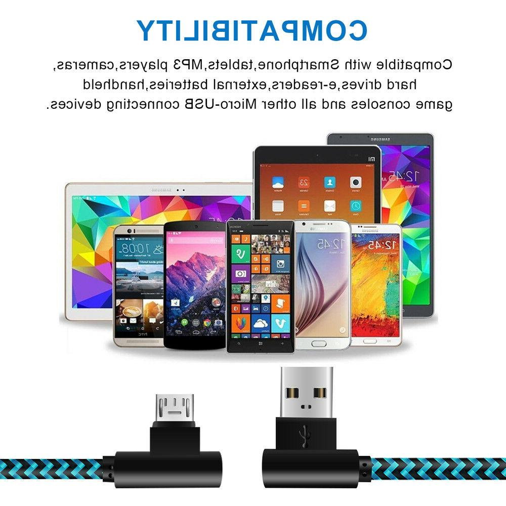 3 Pack 90 Degree Right Micro for Samsung