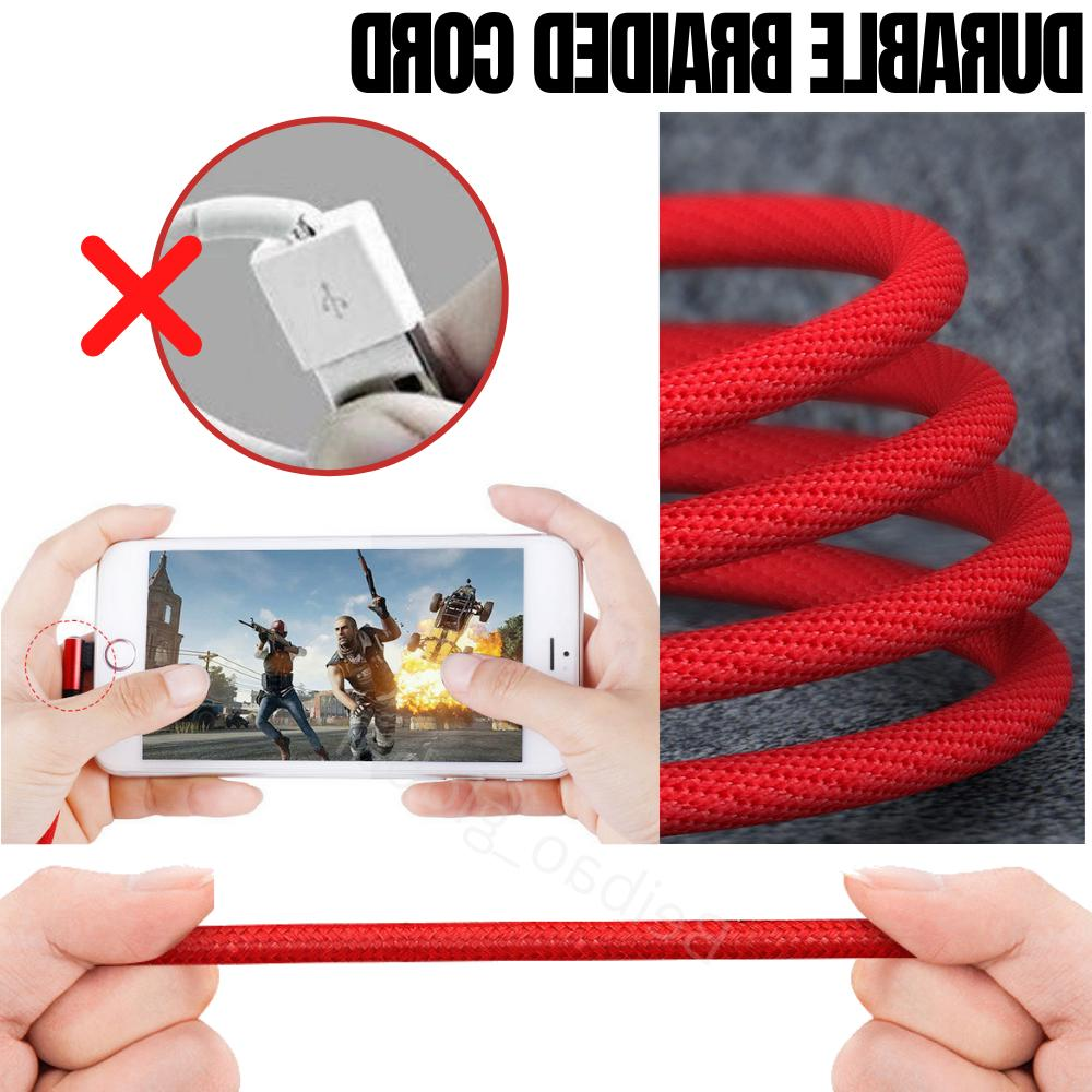 3 Cable iPad iPhone Charger Charging Cord