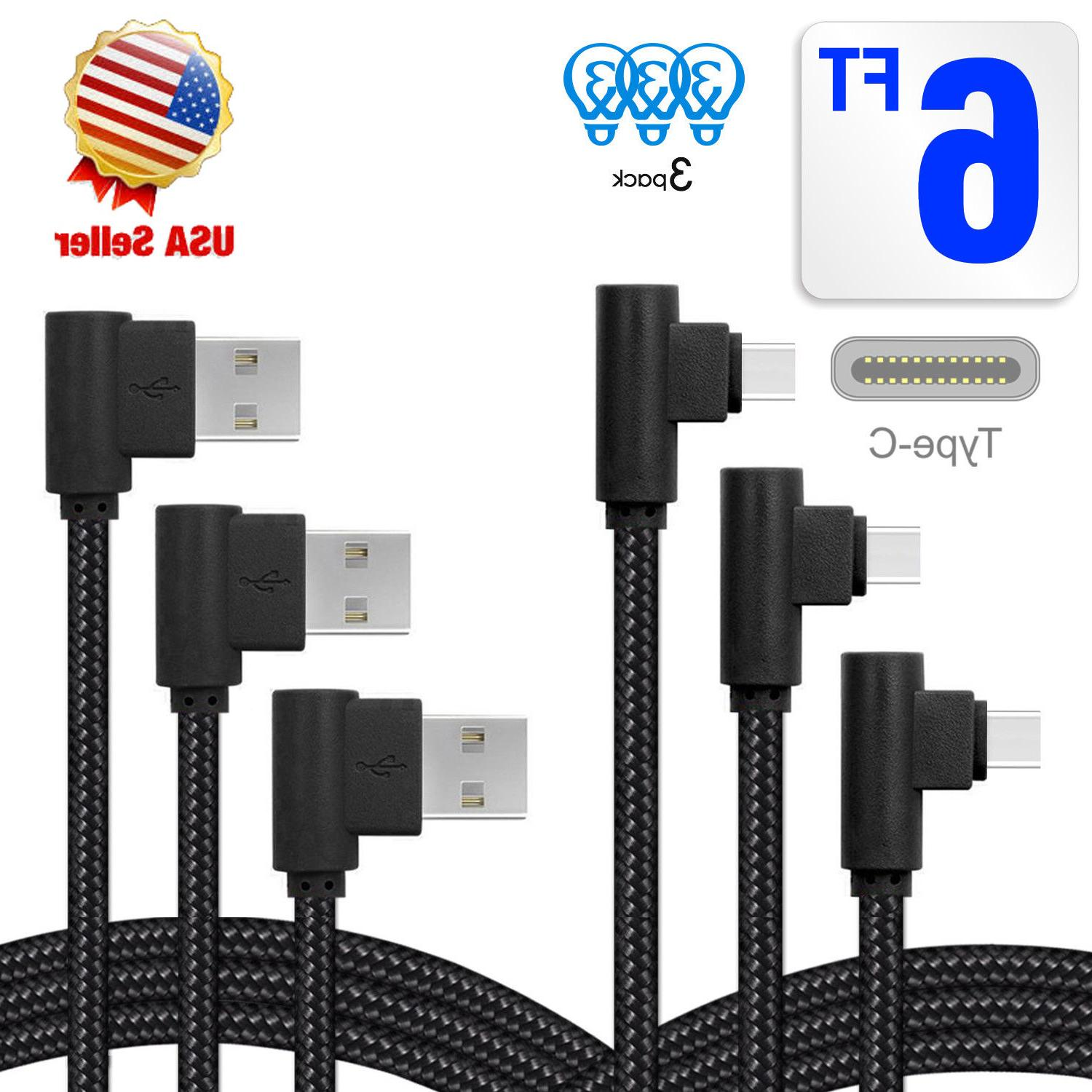 3 Angle USB Degree USB C Charger Cable